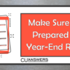 Self-Processing Credit Unions: Get Ready for the Year-End Release