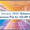 Arriving January 2022: Enhanced Batch Maintenance File for CO-OP Clients!
