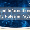 Important Information for 01 Priority Rules in PayWatch