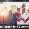 TransUnion Support for CU*Answers Clients