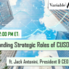 TODAY AT 2:00 PM ET: The Expanding Strategic Roles of CUSOs – ft. Jack Antonini, President & CEO of NACUSO