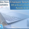 Video Now Available – Employee Security Audits: What Every Credit Union Needs to Know!
