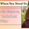 We're Here When You Need Us – Meet Alycia Meyers, Senior Technical Writer