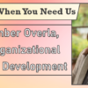 We're Here When You Need Us – Meet Amber Overla, VP of Organizational Resource Development
