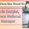 We're Here When You Need Us – Meet Chris Smigiel, National Sales Manager
