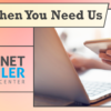 We're Here When You Need Us – Internet Retailer Support Center