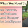 We're Here When You Need Us – Meet Josh Peacock, Analytics/Business Development Manager with Asterisk Intelligence