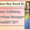 We're Here When You Need Us – Meet Melissa Robinson, Managed Services Manager with SettleMINT EFT