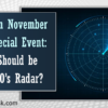 Join Us in November for a Special Event: What Should be on a CEO's Radar?