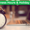Xtend's 2020 Business Hours and Holiday Closings