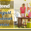 Check out Xtend's August Webinars!