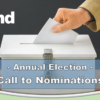 Reminder: Call to Nominations – Xtend Annual Election