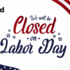 Xtend will be closed on Labor Day