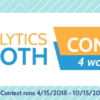 The Analytics Booth Contests Are Underway!
