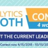 Check Out the Current Leaderboards for the Analytics Booth Contests!