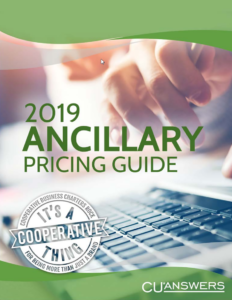 ancillary pricing guide 2019