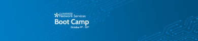 Join Network Services for our October Boot Camp!