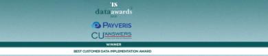 Congratulations CU*Answers & Payveris!