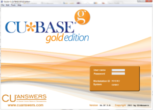 CU*BASE GOLD Edition Screenshot