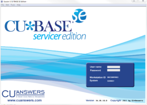 CU*BASE Servicer Edition screenshot