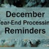 Year-End is Almost Here: Are You Ready?