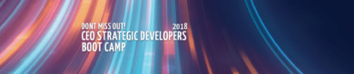 Register for the 2018 CEO Strategic Developers Boot Camp!