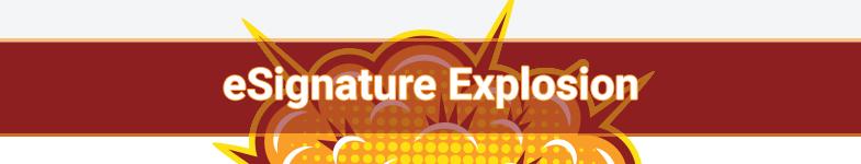 eSignature Explosion - contest banner image