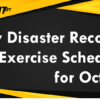 iPay Disaster Recovery Exercise Scheduled for October