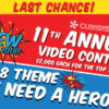 The 11th Annual Video Contest Ends Soon!