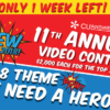 One Week Left to Enter the 11th Annual Video Contest!