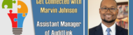Get Connected with Marvin Johnson